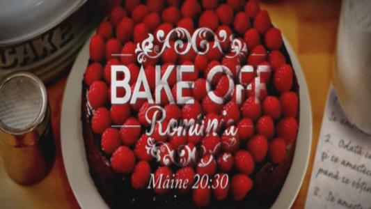 A mai ramas o zi pana la debutul celei mai dulci competitii culinare! Bake Off Romania, din 29 februarie, la ProTV